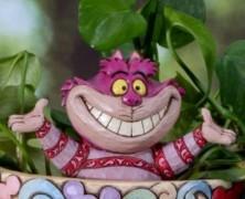 Cheshire Cat Plant Stake