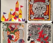 Disney Appetizer Plates – 4 Piece Set