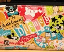 Disney Bright Retro Zip Around Wallet