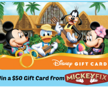 It's Summer – Win a $50 Disney Gift Card! (closed)