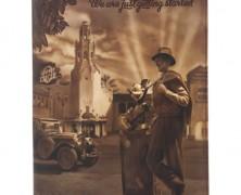 Walt Disney and Mickey Padfolio