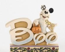 Ghost Mickey Halloween Sculpture