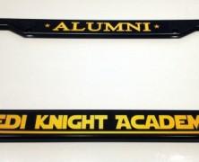 Jedi Academy Alumni License Cover