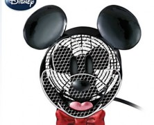Mickey Mouse Electric Fan