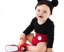 Mickey Mouse Bodysuit and Ears for Baby