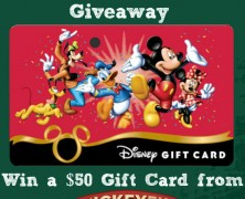The Mickey Fix Back to School Giveaway: Win a $50 Disney Gift Card!