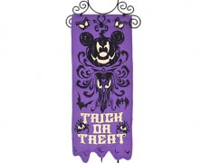 Haunted Mansion Mickey Mouse Halloween Banner