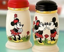 Lenox Mickey and Minnie Salt and Pepper Shakers