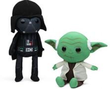 Darth Vader, Yoda, or Chewbacca Rag Doll Plush