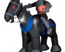 Headless Horseman Inflatable