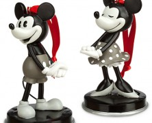 Mickey and Minnie 1928 Ornament Set