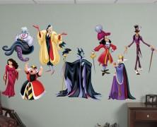 Disney Villains Wall Decals