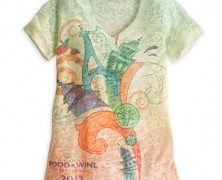 Epcot Food and Wine Festival Tee