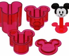 Mickey Mouse Sushi Rice Press