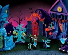 Nightmare Before Christmas Illuminated Village