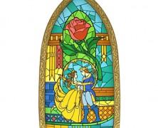 Beauty and the Beast Window Replica