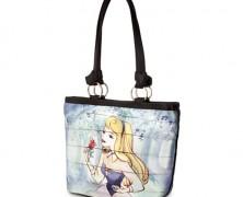 Aurora Maleficent Carriage Tote Handbag by Harveys