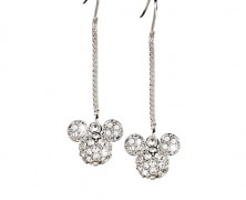 Dangling Mickey Mouse Earrings by Arribas Brothers