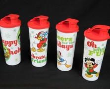 Disney Tupperware Holiday Tumblers