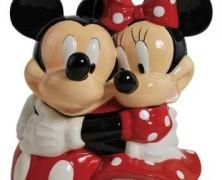 Mickey and Minnie Cookie Jar