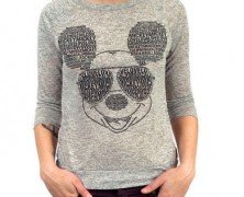 Mickey Mouse Burnout Tee