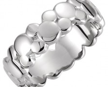 Mickey Mouse Icon Silver Ring