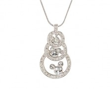 Swarovski Mickey Mouse Necklace by Arribas