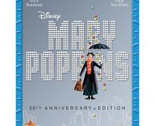 Mary Poppins 50th Anniversary Blu-ray Disc