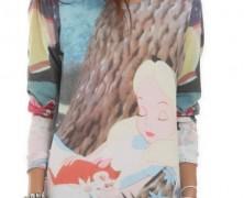 Alice in Wonderland Pullover Shirt