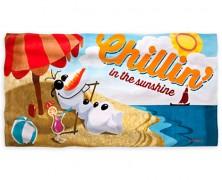 Frozen Olaf Beach Towel