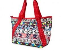 Mickey and Minnie Seatbelt Bag by Harveys
