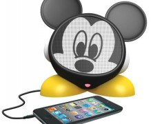 Mickey Mouse Rechargeable Speaker