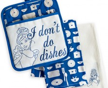 Cinderella Dish Towels