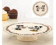 Mickey and Minnie Sweet Treats Cake Stand by Lenox