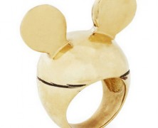 Mickey Mouse Ears Ring