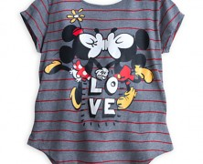Mickey and Minnie Mouse Love Tee