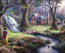 Thomas Kinkade Snow White Puzzle