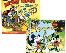Mickey Mouse Classic Books