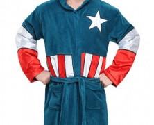 Captain America Bath Robe