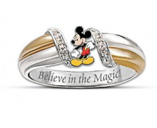 Magic of Mickey Mouse Sterling Silver Ring