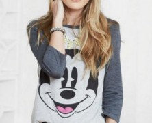 Mickey Mouse 3/4 Sleeved Tee