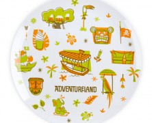 Disney World Plates Adventureland
