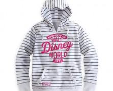 Walt Disney World Striped Hoodie
