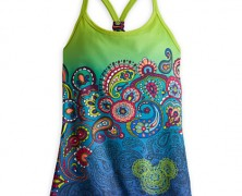 Mickey Mouse Ombre Workout Tank