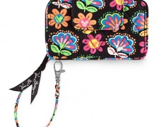 Midnight With Mickey Vera Bradley Wristlet