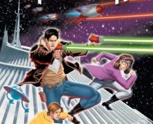 Space Mountain Comic Book Graphic Novel