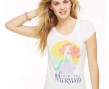 Little Mermaid Burnout Tee