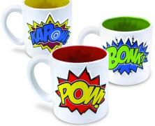Comic Book Mug Set