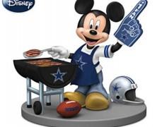 Mickey Mouse Dallas Cowboys Grill Master Figurine