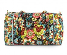 Disney Vera Bradley Perfect Petals Duffel Bag